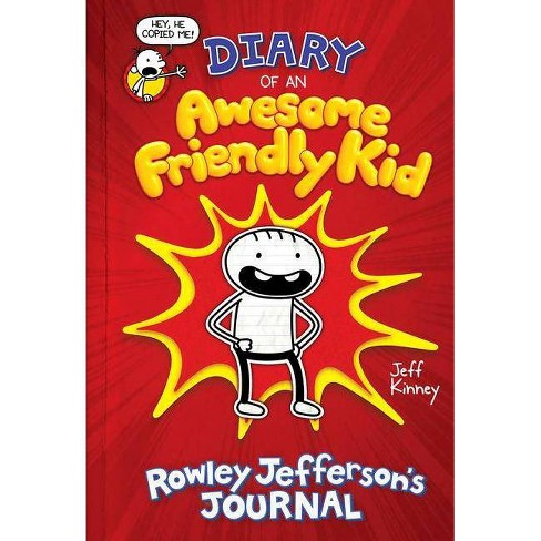 Diary of an Awesome Friendly Kid - By Kinney, Jeff (Hardcover) - image 1 of 1