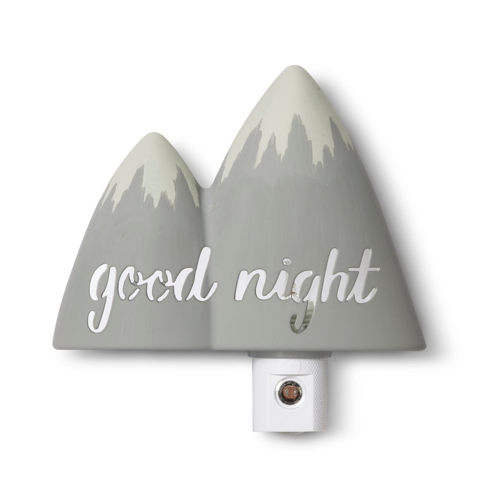 Image of Automatic Nightlight Mountain - Cloud Island Gray