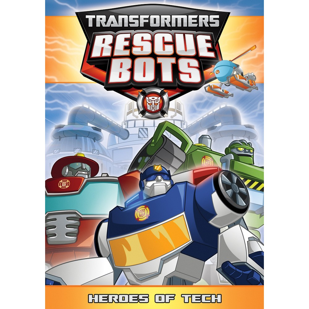 Transformers Rescue Bots:Heroes Of Te (Dvd)