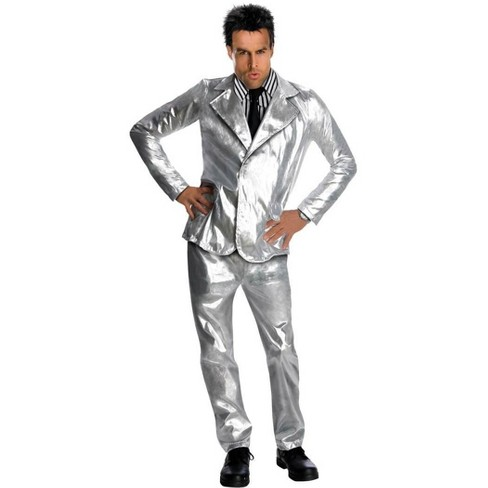 Rubie's Zoolander Derek Silver Suit And Wig Adult Costume - image 1 of 1