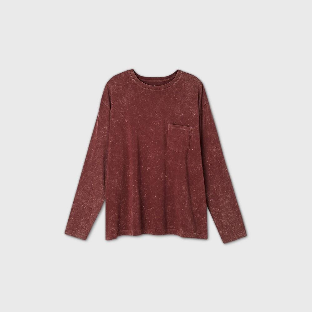 Men 39 S Big 38 Tall Long Sleeve T Shirt Original Use 8482 Red 5xb