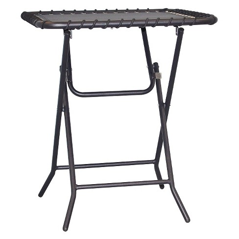 Caravan Patio Folding Table - Black - image 1 of 4