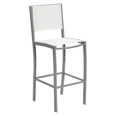 Travira Sling Patio Bar Chair - Oxford Garden - image 1 of 2