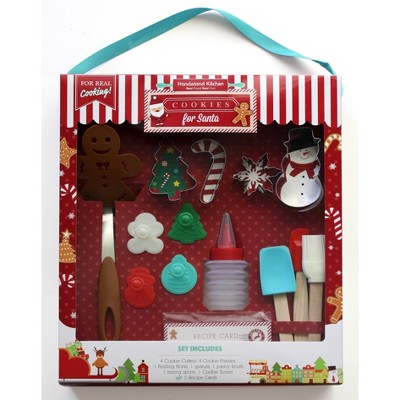 Handstand Kitchen Cookies for Santa Baking Set