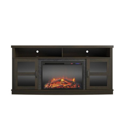"65"" Ryegate Fireplace Tv Stand - Room & Joy"