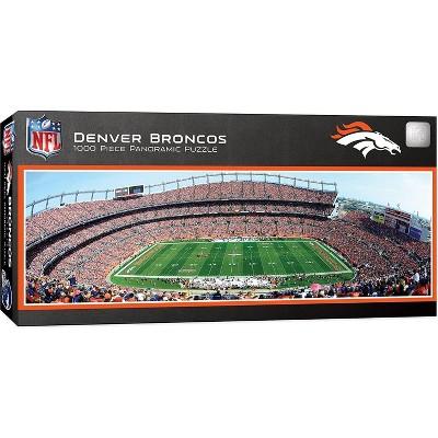 MasterPieces Inc Denver Broncos Stadium NFL 1000 Piece Panoramic Jigsaw Puzzle