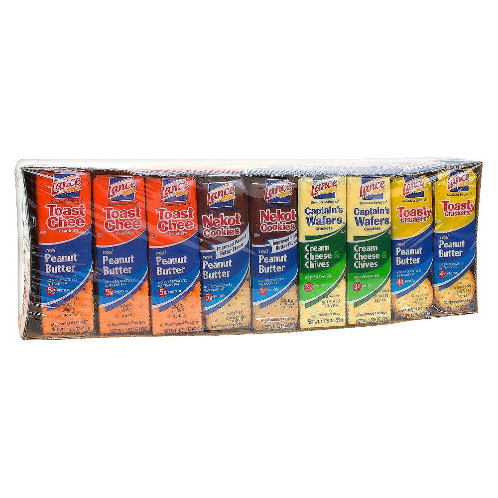 Lance Sandwich Crackers Variety Pack 36ct