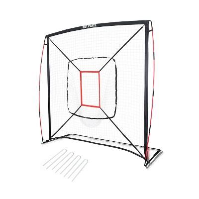 Net Playz 7' x 7' Baseball and Softball Practice Pitching Net - Black