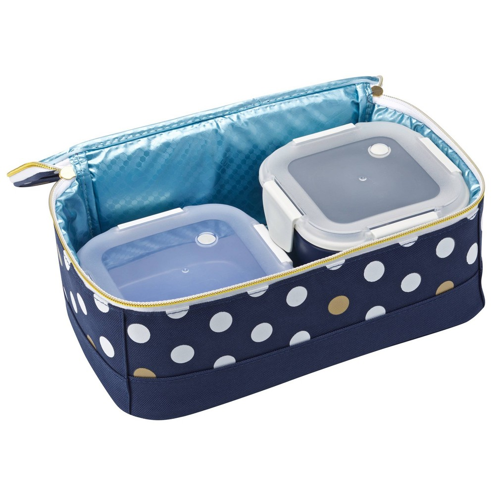 Image of Smash 3pc Cold Lunch Pack - Navy