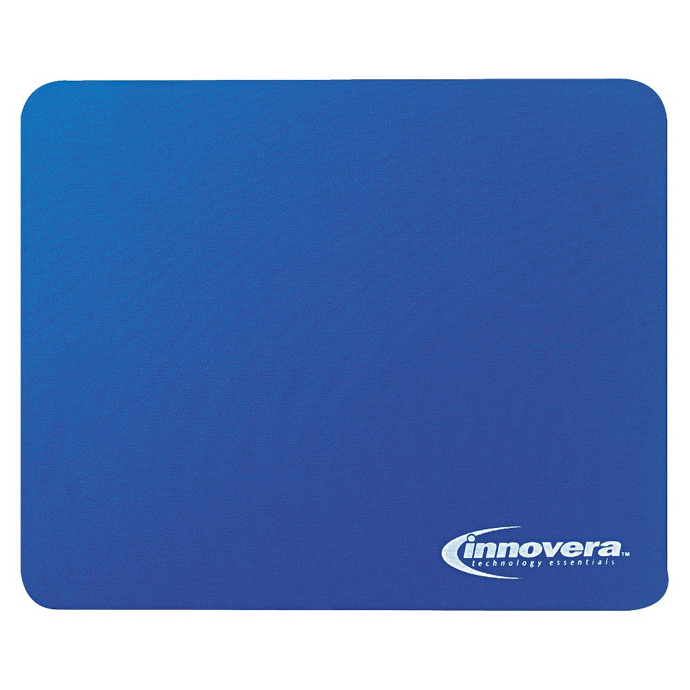 Innovera Natural Rubber Mouse Pad - Blue