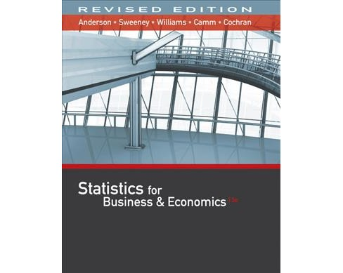 Statistics for Business & Economics (Hardcover) (David R. Anderson & Dennis J. Sweeney & Thomas A. - image 1 of 1