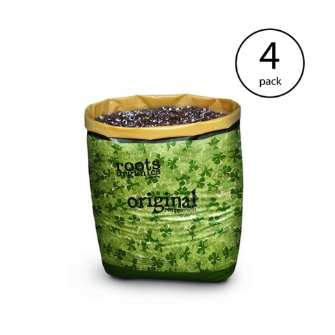 Roots Organics Hydroponic Gardening Coco Fiber Potting Soil, 1.5 cu ft (4 Pack) - image 1 of 4