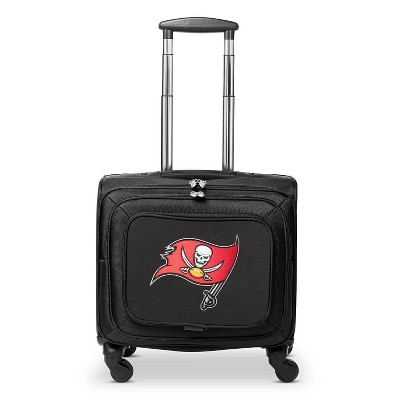 NFL Tampa Bay Buccaneers Mojo Carry On Laptop Overnighter Spinner Wheels Suitcase