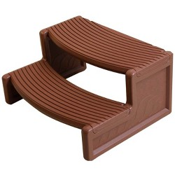 Remarkable Life Smart 2 Tier Non Slip Hot Tub Steps For Rectangle Machost Co Dining Chair Design Ideas Machostcouk