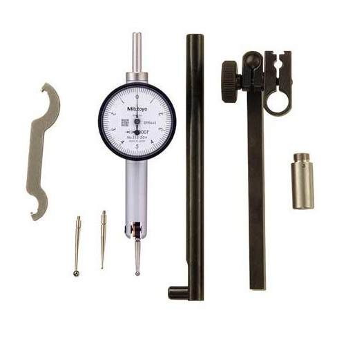 MITUTOYO 513-504T Test Indicator Set,Swl Hd,0 to 0.100 In - image 1 of 1