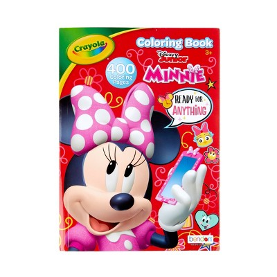 - Crayola 400pg Minnie Mouse Coloring Book : Target