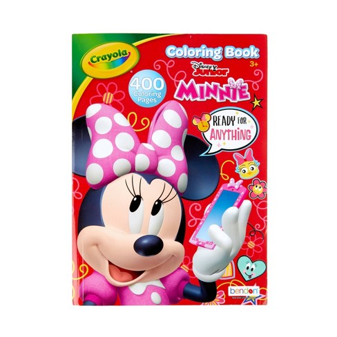 Crayola 400pg Minnie Mouse Coloring Book Target