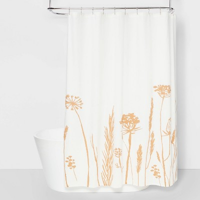 Dried Floral Shower Curtain - Threshold™