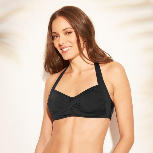 0d8ba5e410bd9 Women's Twist Halter Bikini Top - Kona Sol™ : Target