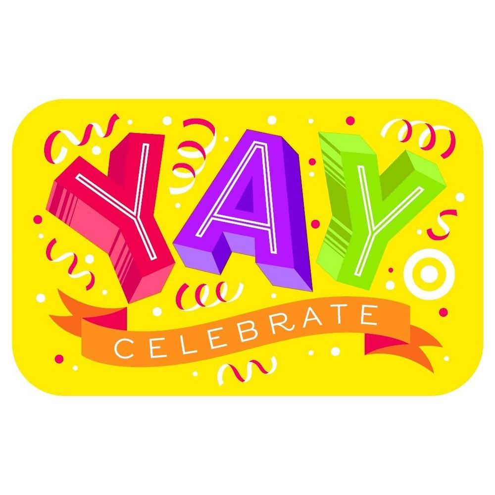 Yay Confetti GiftCard $20