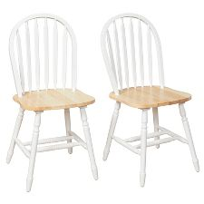 Solid Oak Kitchen Chairs : Target