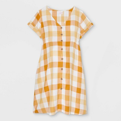 Short Sleeve Button-Down T-Shirt Maternity Dress - Isabel Maternity by Ingrid & Isabel™