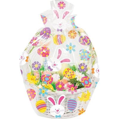 12ct Easter Bunny and Eggs Basket Bag