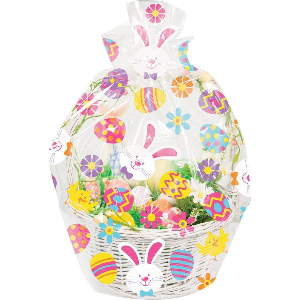 Image of 12ct Easter Bunny and Eggs Basket Bag