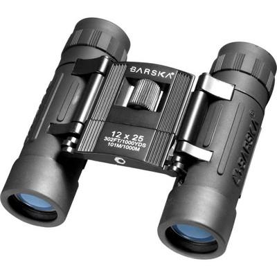 Barska 12x25mm Compact Binoculars - Lucid Black