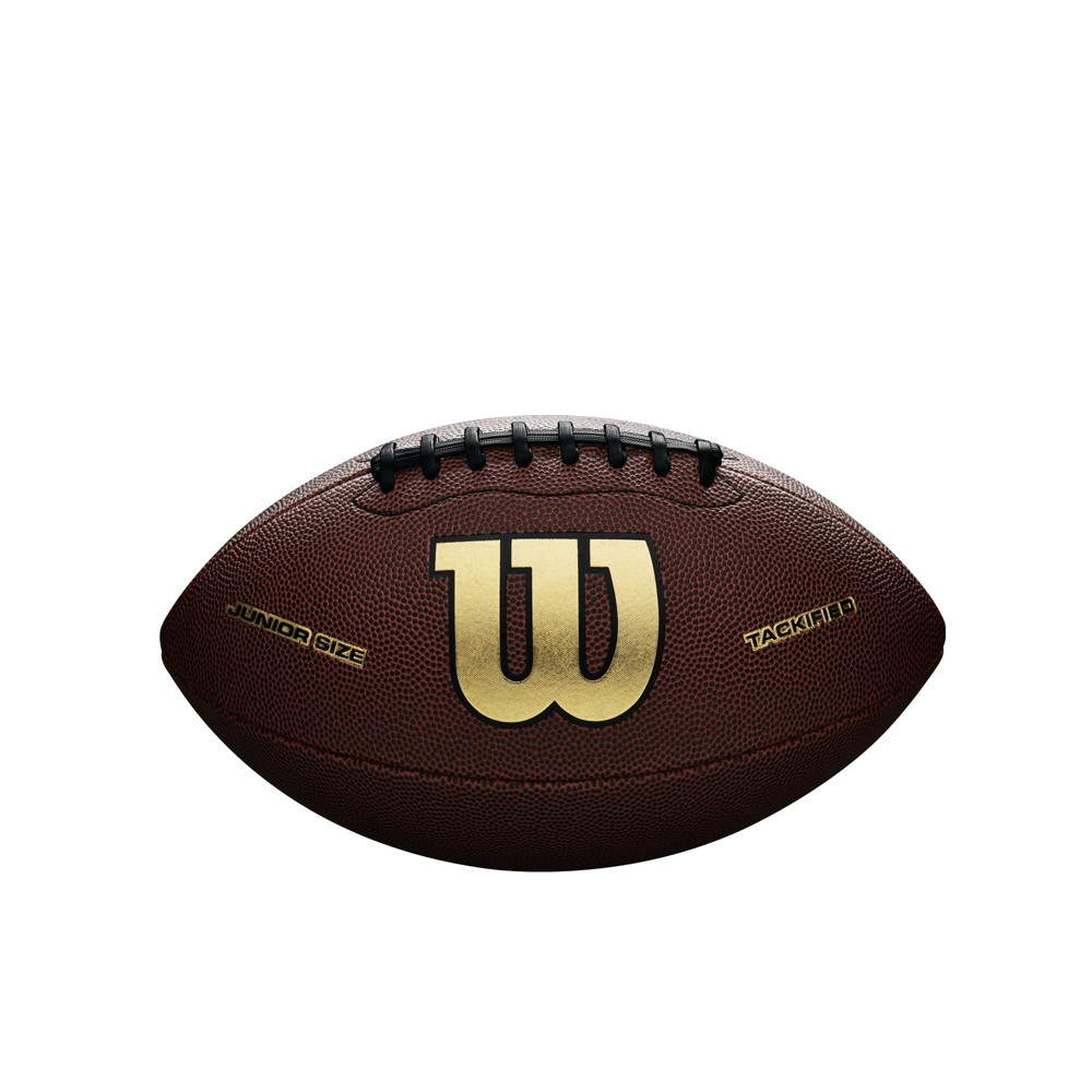 Wilson NCAA Icon Junior Football, Brown