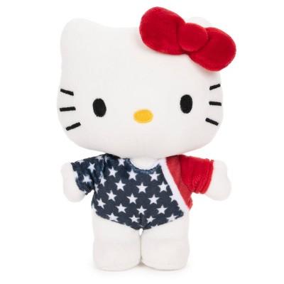 """GUND Hello Kitty Team USA Gymnast 6"""" Plush"""