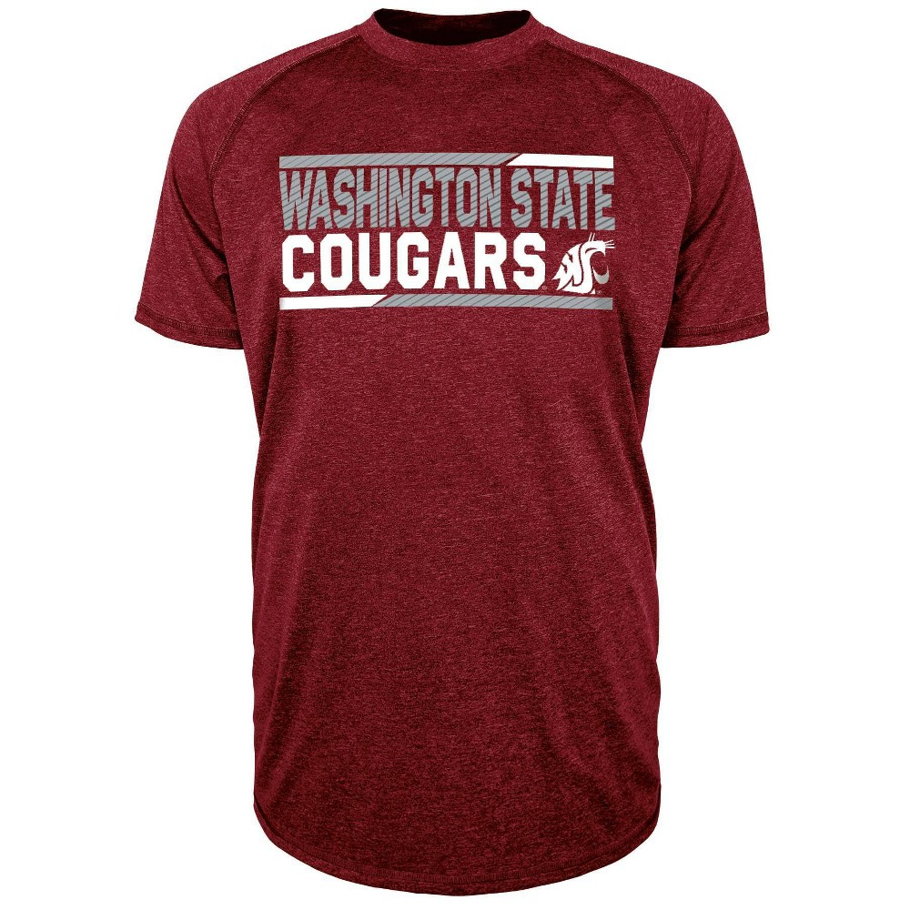 Ncaa Washington State Cougars Men 39 S Short Sleeve Performance T Shirt Xl
