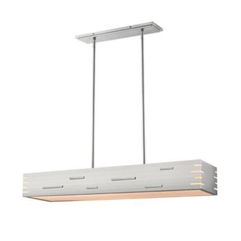 """Z-Lite 332-45-LED Loek 2 Light 45"""" Wide Integrated LED Linear Chandelier - image 1 of 1"""