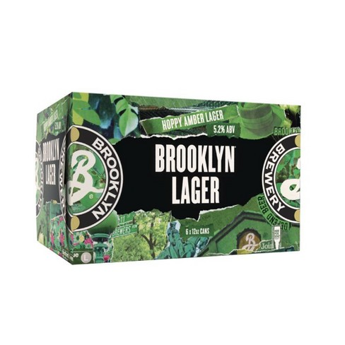 Brooklyn Lager Beer - 6pk/12 fl oz Cans - image 1 of 3
