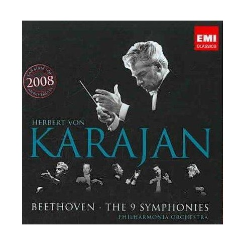 Beethoven - Beethoven: The 9 Symphonies (Box Set) (CD) - image 1 of 1