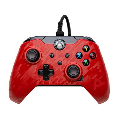 PDP Wired Gaming Controller for Xbox Series X S/Xbox One - Phantasm Red