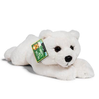 "FAO Schwarz Adopt A Wild Pal Endangered Polar Bear - 15"" Toy Plush"