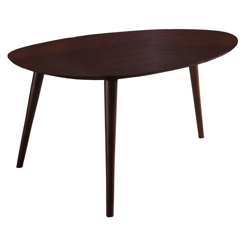 Image of Elam Wood Coffee Table - Walnut - Christopher Knight Home
