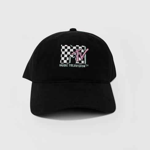 d51d1372216 Women s MTV Baseball Hat - Black   Target