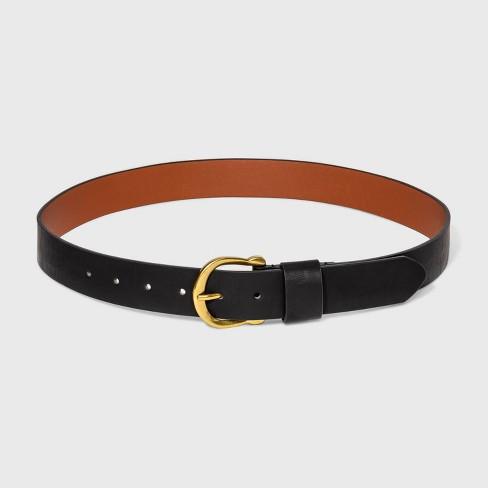 Women's Solid Horseshoe Belt - Universal Thread™ - image 1 of 2