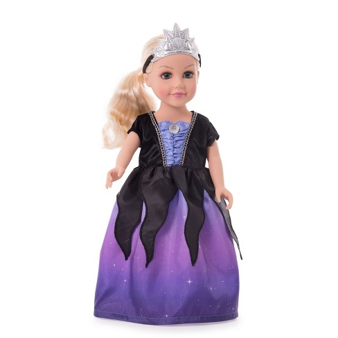 Little Adventures Doll Dress Sea Witch with Soft Crown - image 1 of 1