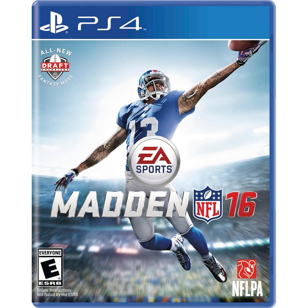 Madden NFL 16 PlayStation 4