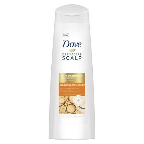 Dove Derma Care Scalp Dryness & Itch Relief Anti Dandruff Shampoo - 12 fl oz - image 1 of 4