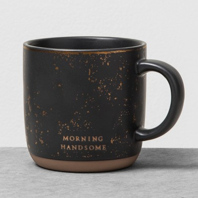 Mug Morning Handsome Black - Hearth & Hand™ with Magnolia