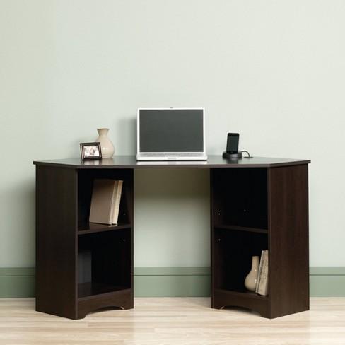Beginnings Corner Desk Cinnamon Cherry Sauder