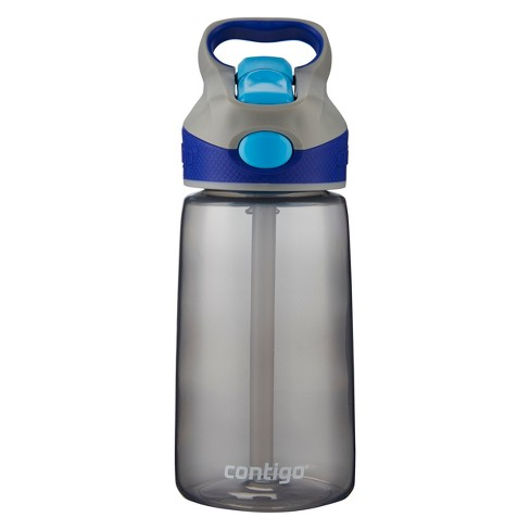 Contigo Striker 14oz Plastic Water Bottle - Gray/Blue - image 1 of 3