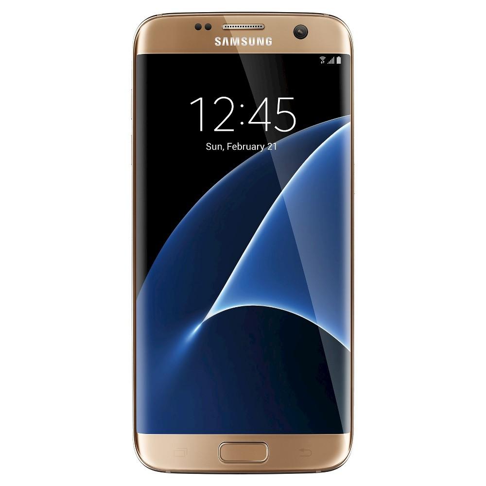 Samsung Galaxy S7 Edge - Gold Platinum - Sprint
