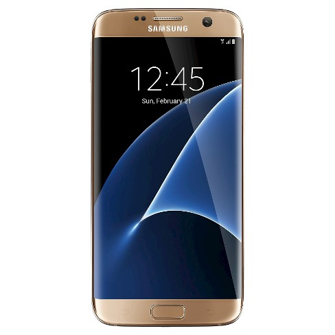 Samsung Galaxy S7 Edge - Gold Platinum - Sprint - image 1 of 5