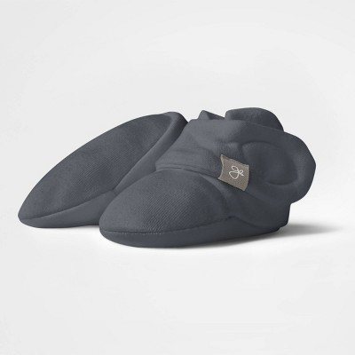 Goumi Baby Organic Cotton Midnight Boots - Blue 0-3M
