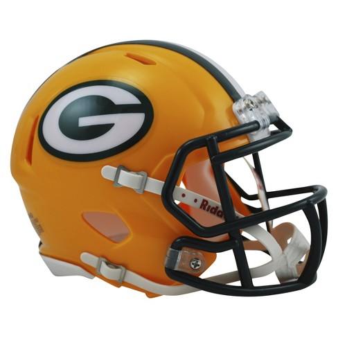 Green Bay Packers Riddell Speed Mini Helmet - Gold - image 1 of 1